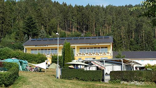 Campingplatz Saalthal-Alter - Restaurant Seeblick