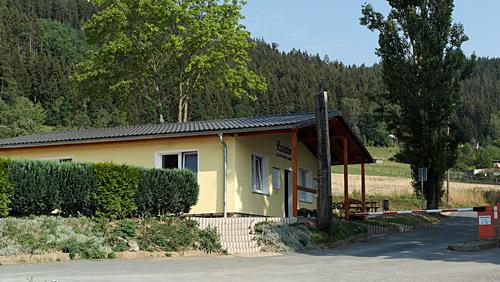 Campingplatz Saalthal-Alter - Rezeption