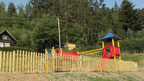 Campingplatz Saalthal-Alter - Spielplatz
