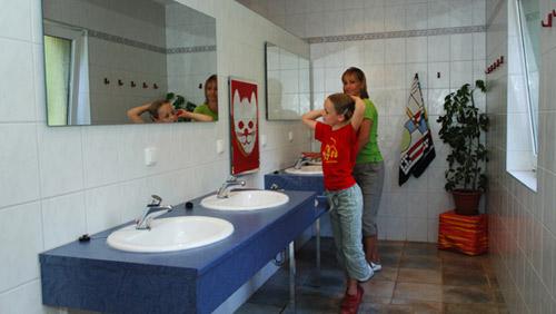 Sanitäreinrichtungen Campingplatz Neumannshof