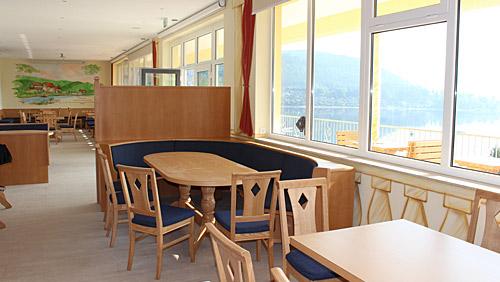 Restaurant Seeblick Campingplatz Saalthal Alter